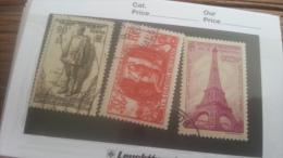 LOT 250880 TIMBRE DE FRANCE OBLITERE