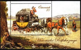 Österreich 2013 MiNr. 3097 (Bl. 77)   ** / Mint   Postkutsche - Postkoetsen