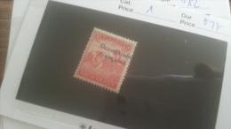 LOT 250929 TIMBRE DE COLONIE HONGRIE ZONE FRANCAISE NEUF* N�1 VALEUR 27 EUROS