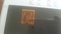 LOT 250934 TIMBRE DE COLONIE MADGASCAR OBLITERE N�20 VALEUR 80 EUROS