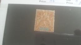 LOT 250941 TIMBRE DE COLONIE MADGASCAR NEUF* N�36 VALEUR 11,5 EUROS
