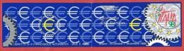 ITALIA REPUBBLICA LIBRETTO MNH - 1998 - Esposizione Mondiale Filatelia Milano - £ 800 X 6 - S. 2383I AUTOADESIVO - 6. 1946-.. República