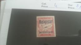 LOT 250963 TIMBRE DE COLONIE MADGASCAR NEUF* N�4 VALEUR 12 EUROS
