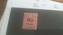 LOT 250985 TIMBRE DE COLONIE MADGASCAR NEUF* N�48