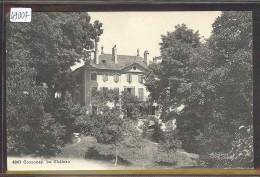 DISTRICT DE COSSONAY /// COSSONAY - LE CHATEAU - TB - VD Vaud