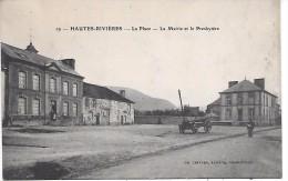 HAUTES RIVIERES - La Place, La Mairie Et Le Presbytère - France