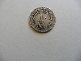 Egypte  . Monnaie  :  10 Piastres 1972  Faucon - Egypte