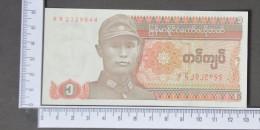 MYANMAR  1  KYAT  1990     -    (Nº11427) - Myanmar