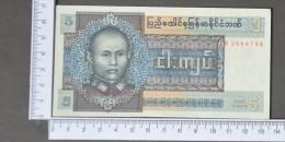 BURMA  5  KYAT  1972     -    (Nº11430) - Myanmar