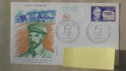FDC  HENRI FARMAN ISSY LES MOULINEAUX 1907  1971        0021 - FDC