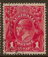 AUSTRALIA 1916 1d rose-red SG 47b U #LW34