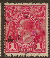 AUSTRALIA 1916 1d rose-red SG 47b U #LW44