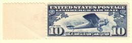 USA SC #C10 MNH  1927 Lindbergh, CV $12.50 - Air Mail