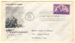 USA SC #898 FDC  1940 Coronado's Journeys In The Southwest (09-07-1940), CV $9.50 - First Day Covers (FDCs)