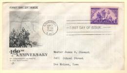 USA SC #898 FDC  1940 Coronado's Journeys In The Southwest (09-07-1940), CV $9.50 - Premiers Jours (FDC)