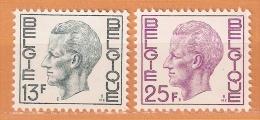 COB  1747/1748  (MNH)  (Lot 346) - Belgique