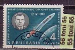 BULGARIA / Bulgarie 1961 SPACE - GAGARIN 1 V.- Used/ (oblitere) - Bulgaria