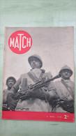 Revue MATCH - 4 Avril 1940 - Mort De Boby Chien Estafeette - Phalsbourg - Carol De Roumanie - Hangoe - Revues & Journaux