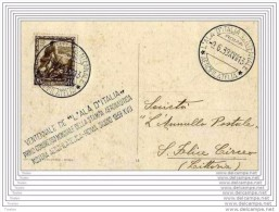 ITALIA  -  9 6 1939  ITALIA REGNO VENTENNALE L'ALA D'ITALIA - Usati