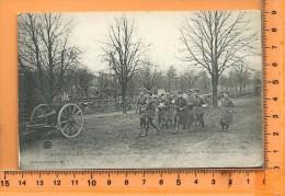 CHATEAU-SALINS: Militaria, Officiers Allemands Remettant Leurs Canons Aux Français Le 17 Novembre 1918 - Chateau Salins