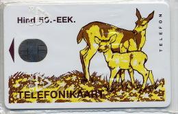 """ESTONIA   AS SEVA_R  """"Roe-deer""""  50 Units  T=500ex Original Wrapping SR-14  Mint? - Estland"""