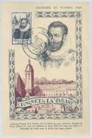 JOURNEE DU TIMBRE  - METZ  - 1946