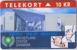 Denmark, TP 091, Brundtland Center, Mint, Only 1000 Issued. - Denmark