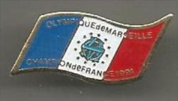Olympique De Marseille Champion De France 1991 - Fútbol