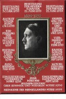Cartolina Fascismo GERMANIA HITLER FUHRER Germany Military Postcard - Guerra 1939-45