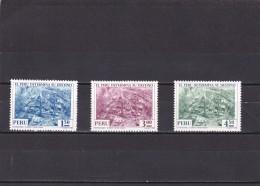 Peru Nº 608 Al 610 - Peru