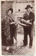 MONTLUCON  Madame Et Monsieur Malochet   Joueurs De Vielles - Montlucon