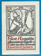 Holycard - S. Augustijn  Soeterbeeck - Images Religieuses