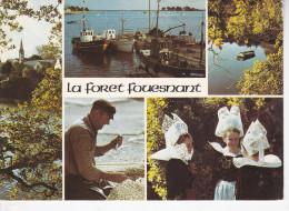 LA  FORÊT FOUESNANT (29-Finistère), Eglise, Port, Réparation Des Filets, Costume, étangs De Penfoulic, Ed. De Bretagne - La Forêt-Fouesnant