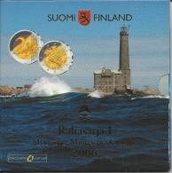 FINLANDE - COFFRET BU 2006 - AVEC 2 EUROS COMMEMO. - Finlandía