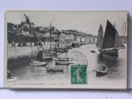 BOULOGNE SUR MER (62) - LE PORT - ANIMEE - BARQUES - Boulogne Sur Mer