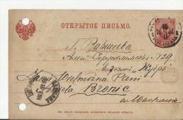 =RU 1902 GS Nach Warszawa - Briefe U. Dokumente