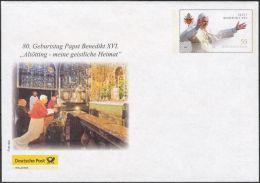 Plusbrief Kreativ Ganzsache Deutsche Post Philatelie EB Team EA EB1/02 Papst Benedikt XVI. 80. Geburtstag ** - Sobres - Nuevos