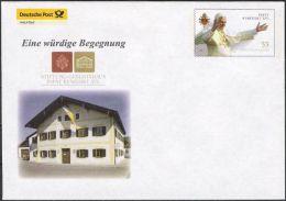 Plusbrief Kreativ Ganzsache Deutsche Post Philatelie EB Team EA EB1/01 Papst Benedikt XVI. Geburtshaus ** - Sobres - Nuevos
