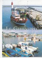 LE GUILVINEC  (29-Finistère), Retour Des Chalutiers Au Port, L´arrière-port, Ed. Jos Le Doaré - Guilvinec