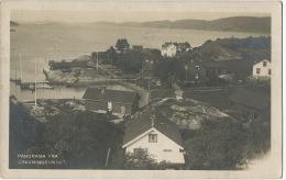 Panorama Fra Gravningsundet Real Photo  P. Used - Norvège