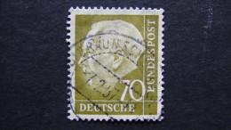 Germany - 1954 - Mi:191 O - Look Scan - Usati