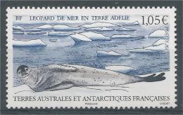 French Antarctic (FSAT), Sea Leopard (Hydrurga Leptonyx), 2015, MNH VF - Unused Stamps