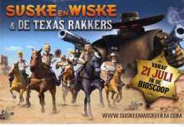 PUBBLICITARIA SUSKE EN WISKE & DE TEXAS RAKKERS FILM  MOVIE SCRITTE DIETRO - Pubblicitari