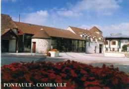 PONTAULT - COMBAULT SCRITTE DIETRO - Saluti Da.../ Gruss Aus...