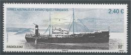 French Antarctic (FSAT), Ship, Radioleine, 2.40€, 2015, MNH VF - Unused Stamps