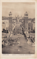 España--Barcelona--1929--Entrada A La Exposicion Internacional De Barcelona - Exposiciones