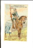 Chromo Litho Sicard Fin 19ème - Hommes D'Armes Cavalerie Féodale 1440 - Poulain
