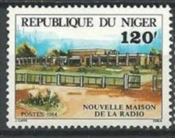 "Niger YT 639 "" Maison De La Radio "" 1984 Neuf** - Niger (1960-...)"