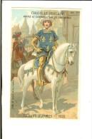 Chromo Litho Sicard Fin 19ème - Héraut D'Armes 1525 - Poulain