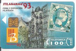 TARJETA LA CASA MILA LA PEDRERA  ANTONIO GAUDI TIRADA 2000 - Sellos & Monedas